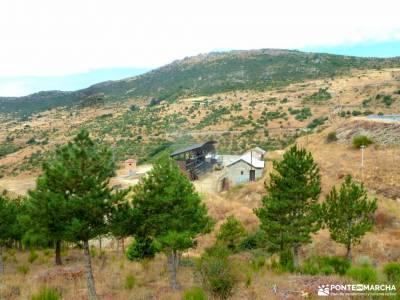 Puerto Cruz Verde,ermita Navahonda;solo mochilas trekking en madrid mochilas diferentes